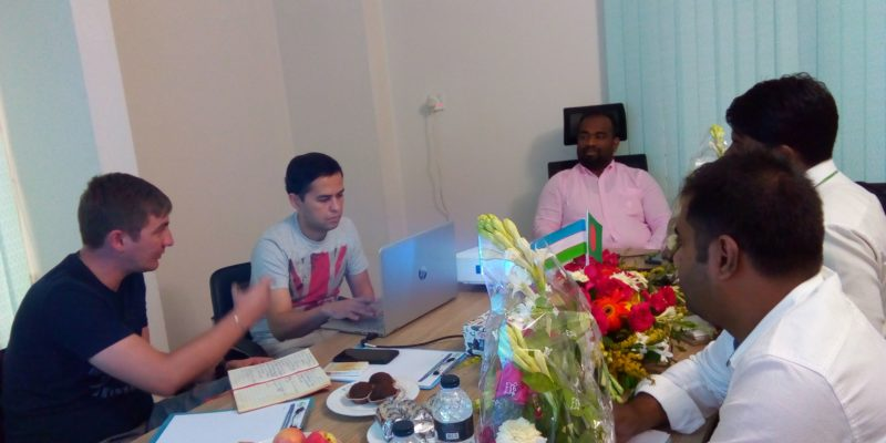 Meeting with Enter Engineering Pte ltd.